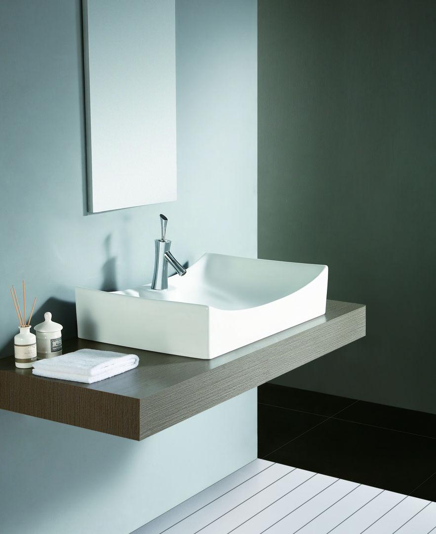 design aufsatz wand waschtisch z serie z004 waschplatz waschbecken waschschale ebay. Black Bedroom Furniture Sets. Home Design Ideas
