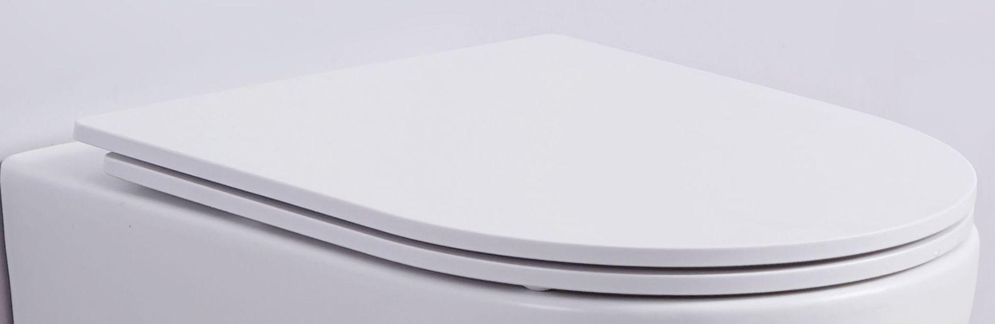 flacher Soft-Close WC-Sitz für WHR-586071 (matt-weiß)