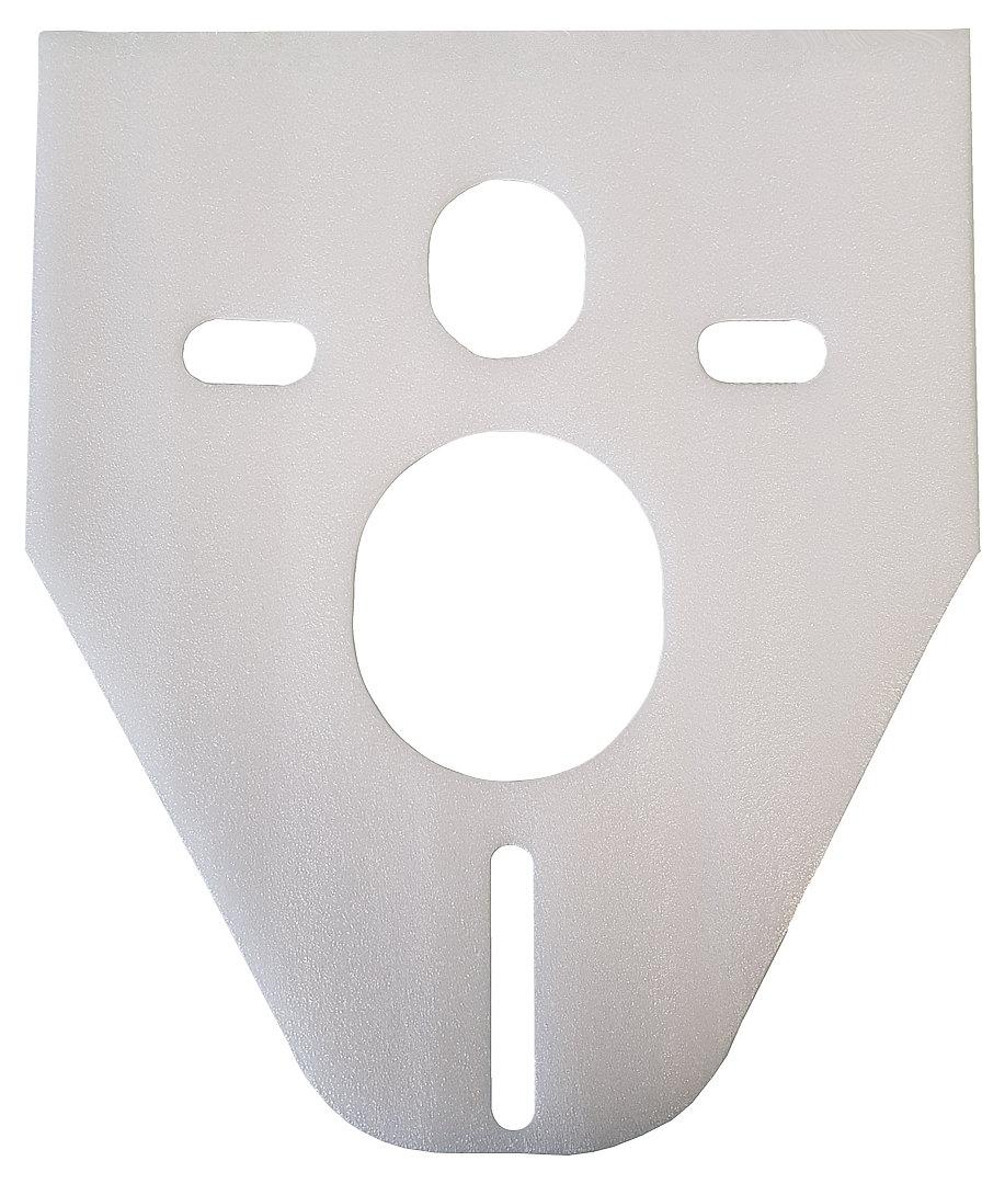 konisches Schallschutz-Pad für Wand WC / Wand Bidet
