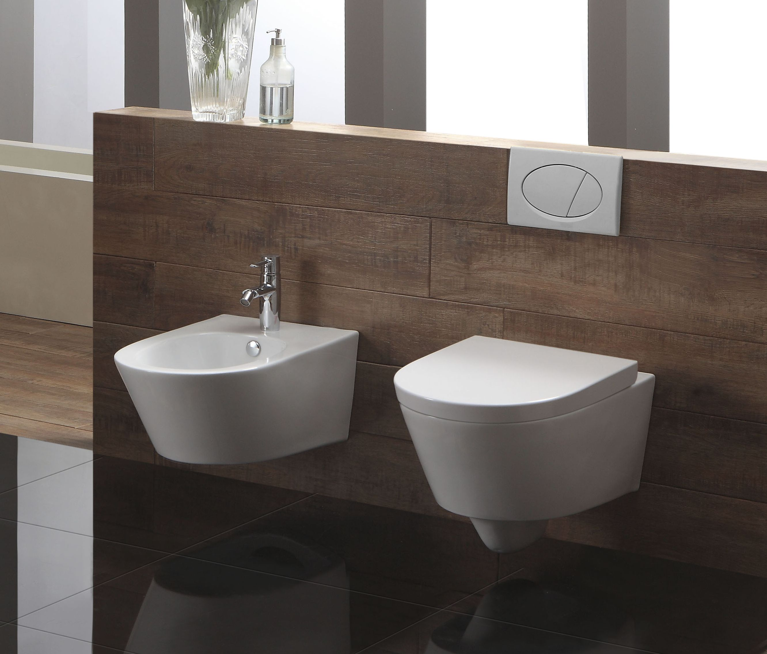 Wand-WC inkl. Soft-Close Sitz WH-586151