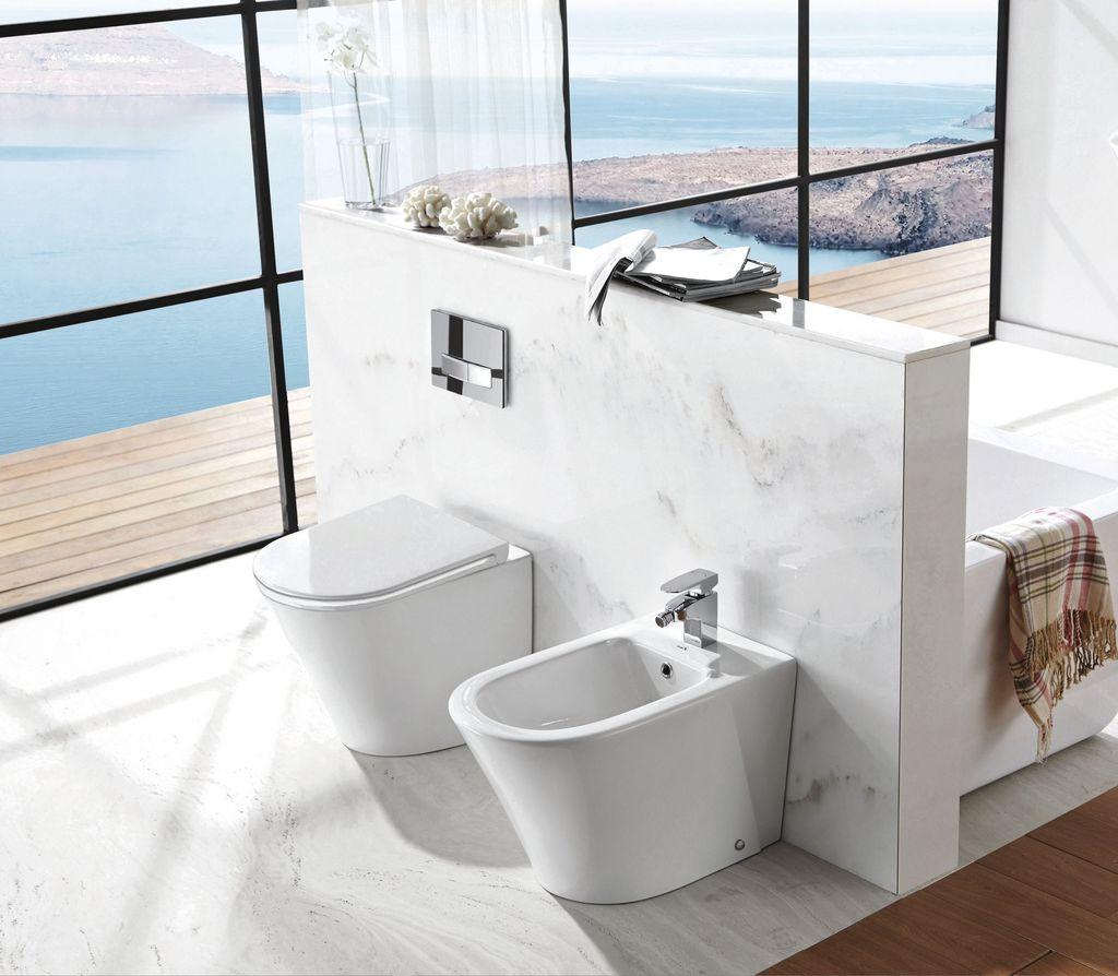 Designer Stand Wc Inkl Soft Close Sitz Btw 6013 Alphabad