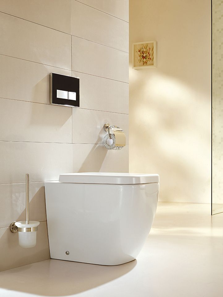 Designer Stand-WC inkl. Soft-Close Sitz BTW-6023