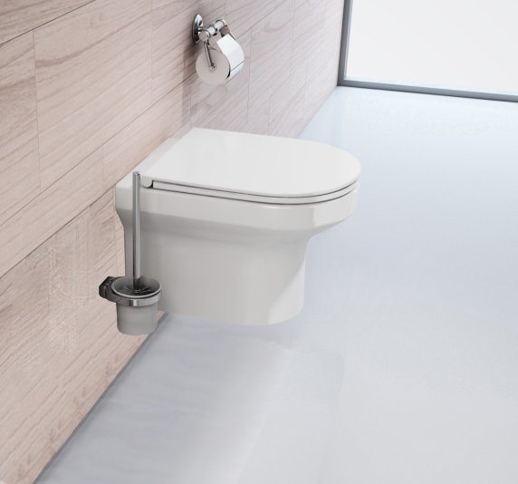 Spülrandloses Wand-WC inkl. Soft-Close Sitz WHR-6060