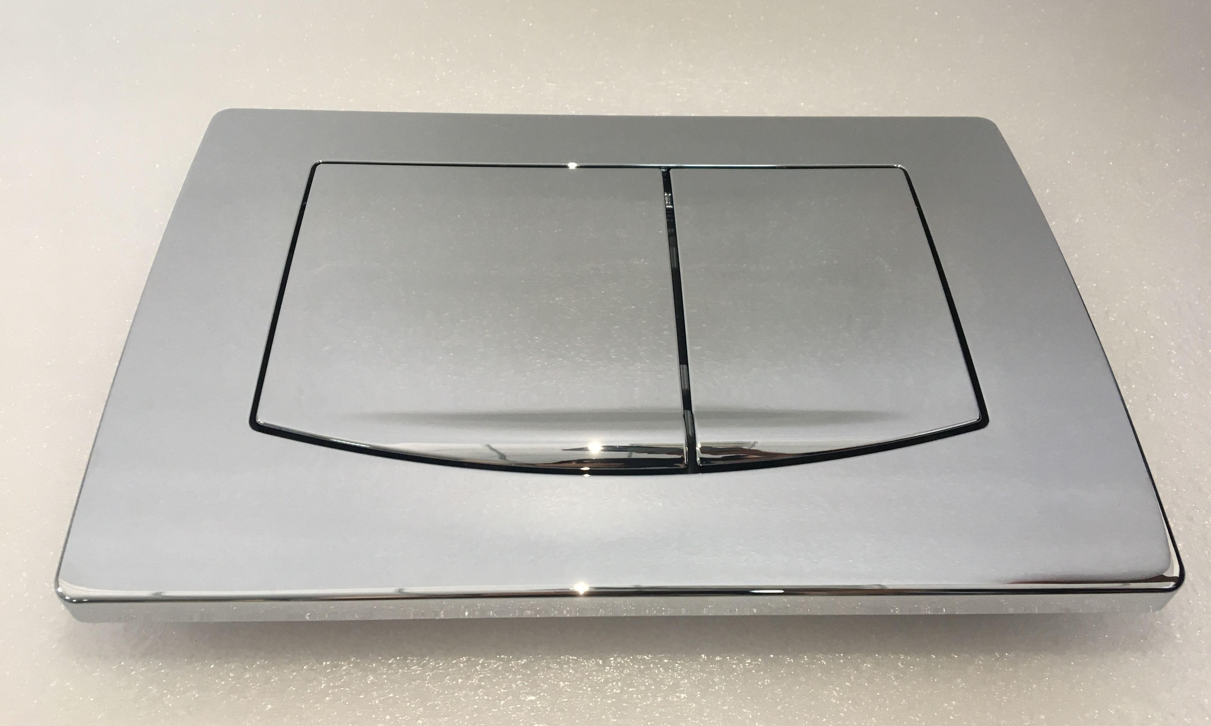 Chrom-Betätigungsplatte 586280 für Vorwandelement TT-586241