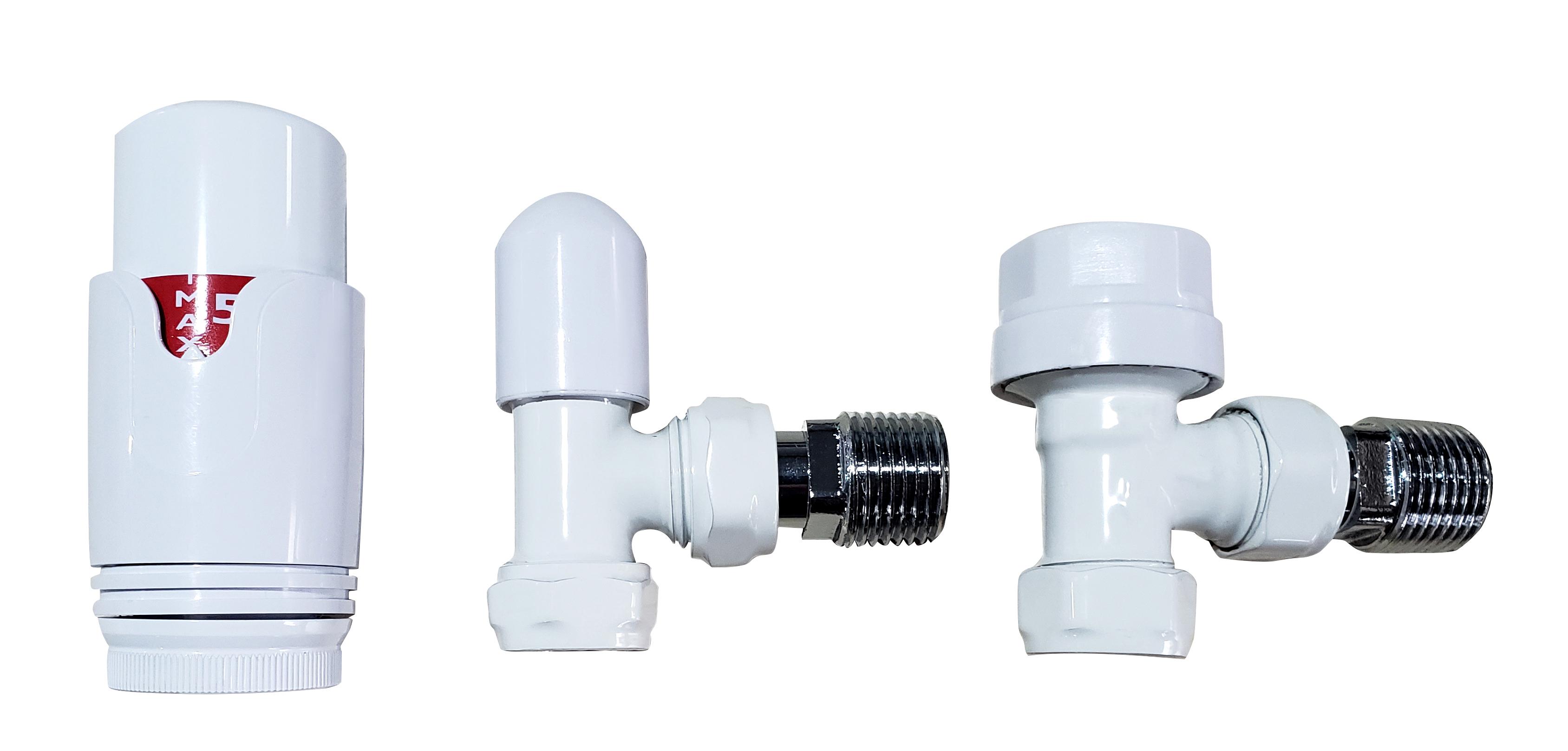 Badheizkörper BH-MAW in 120 x 40 cm (Mittelanschluss, weiß) - alphaBAD