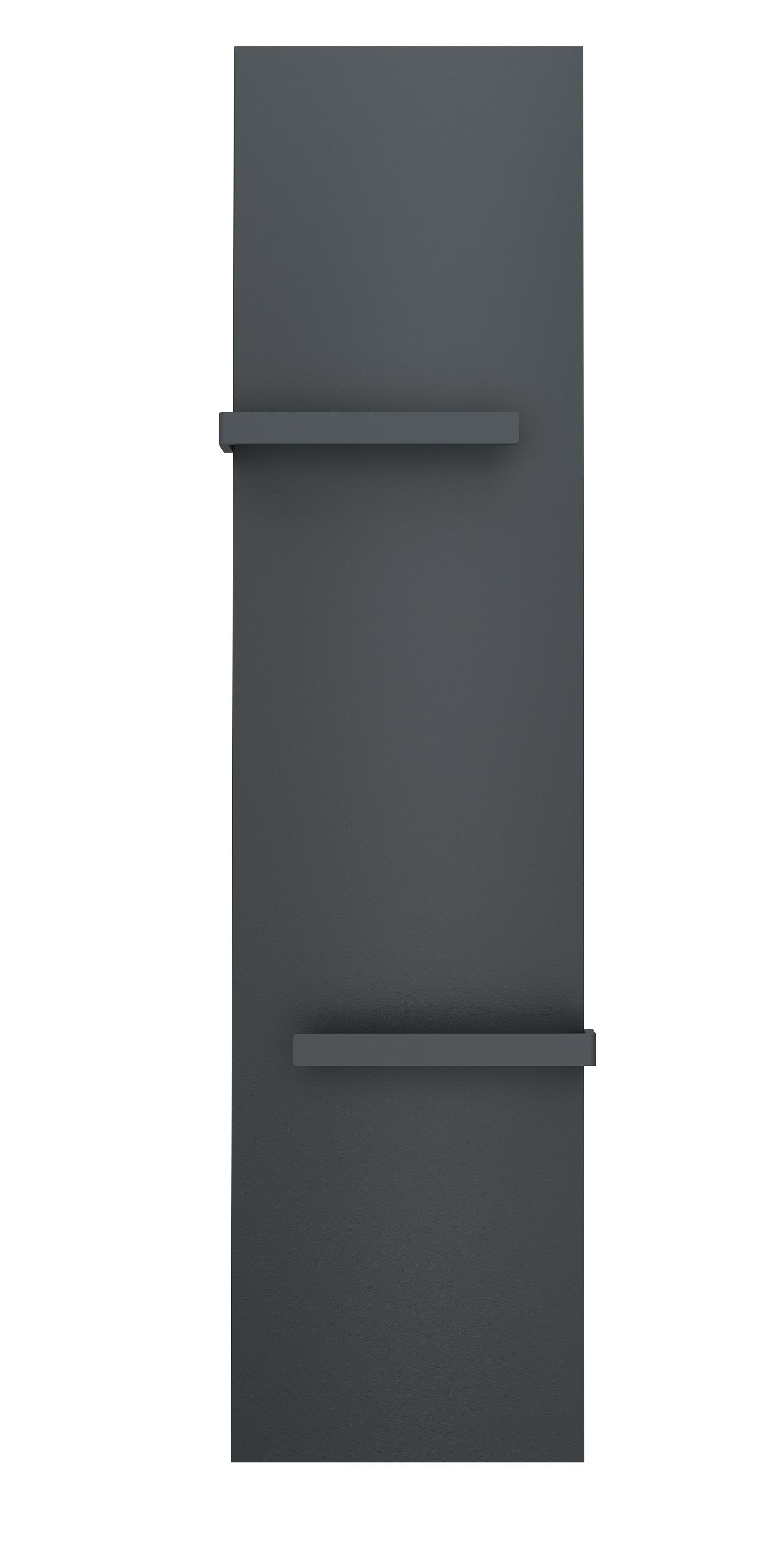 Badheizkörper ALWAR in 140 x 45 cm (Mittelanschluss, grau)
