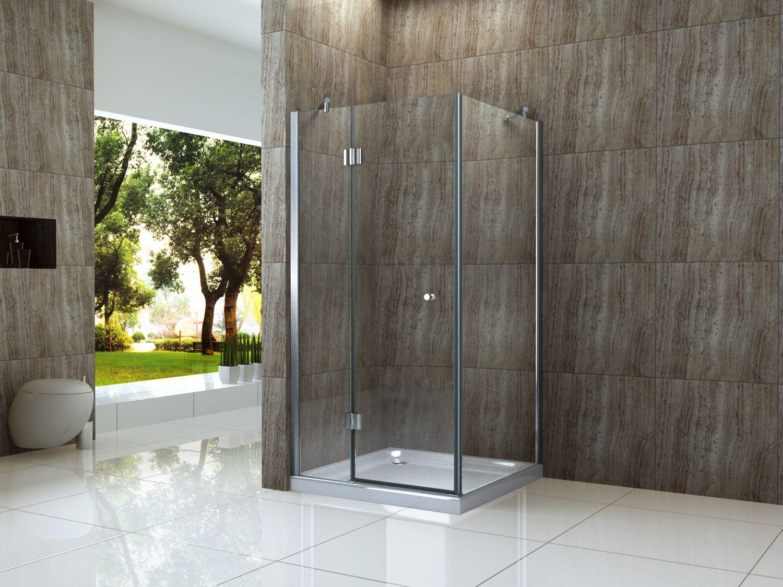 Gut bekannt Duschkabine ARTO 90 x 90 x 170 cm ohne Duschtasse - alphaBAD YU15