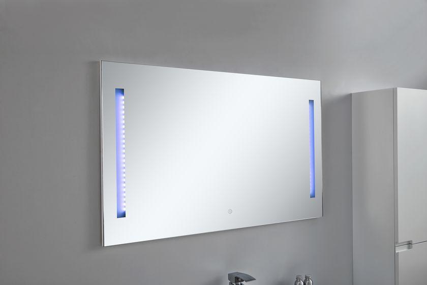 LED-Spiegel BURBUJA in weiß