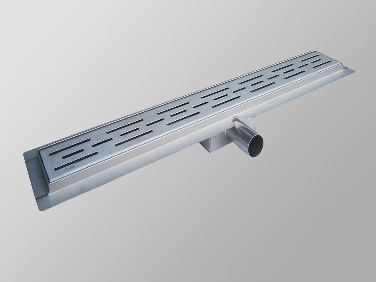 edelstahl-duschrinne 70 cm - alphabad