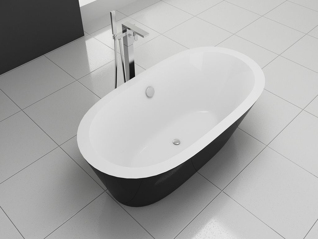 freistehende badewanne fs b001 alphabad. Black Bedroom Furniture Sets. Home Design Ideas