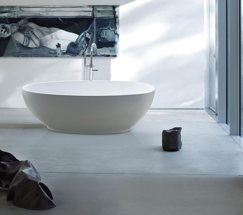 gettaro wei 180 x 90 freistehende acryl badewanne wanne inkl ab berlauf ebay. Black Bedroom Furniture Sets. Home Design Ideas