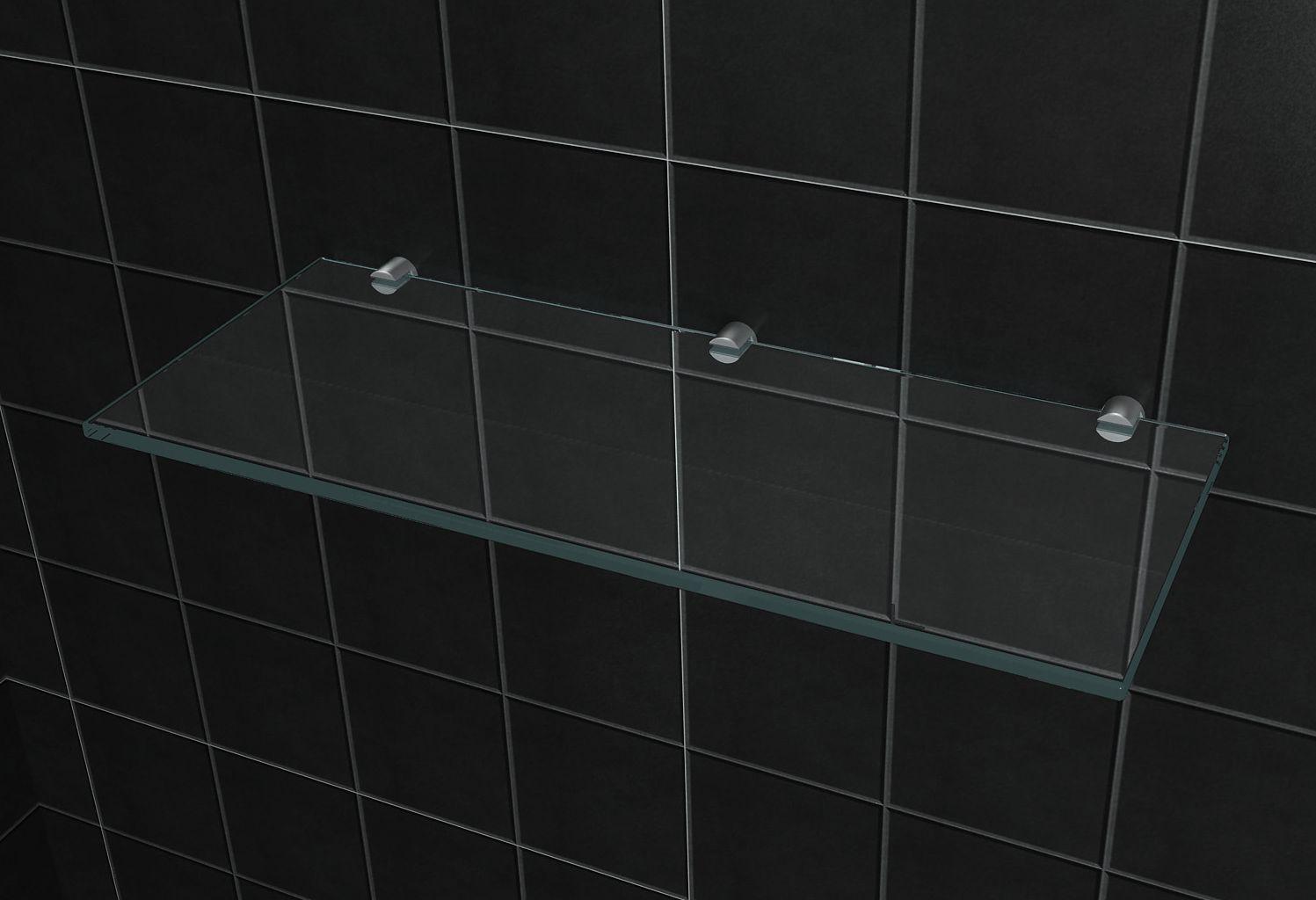 Glas Wandregal 50 X 20 Cm Alphabad