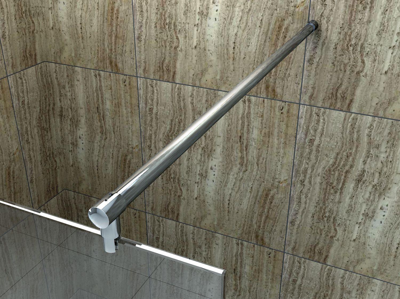 140cm haltestange stabilisator stabilisationsstange duschwand dusche glaswand ebay. Black Bedroom Furniture Sets. Home Design Ideas