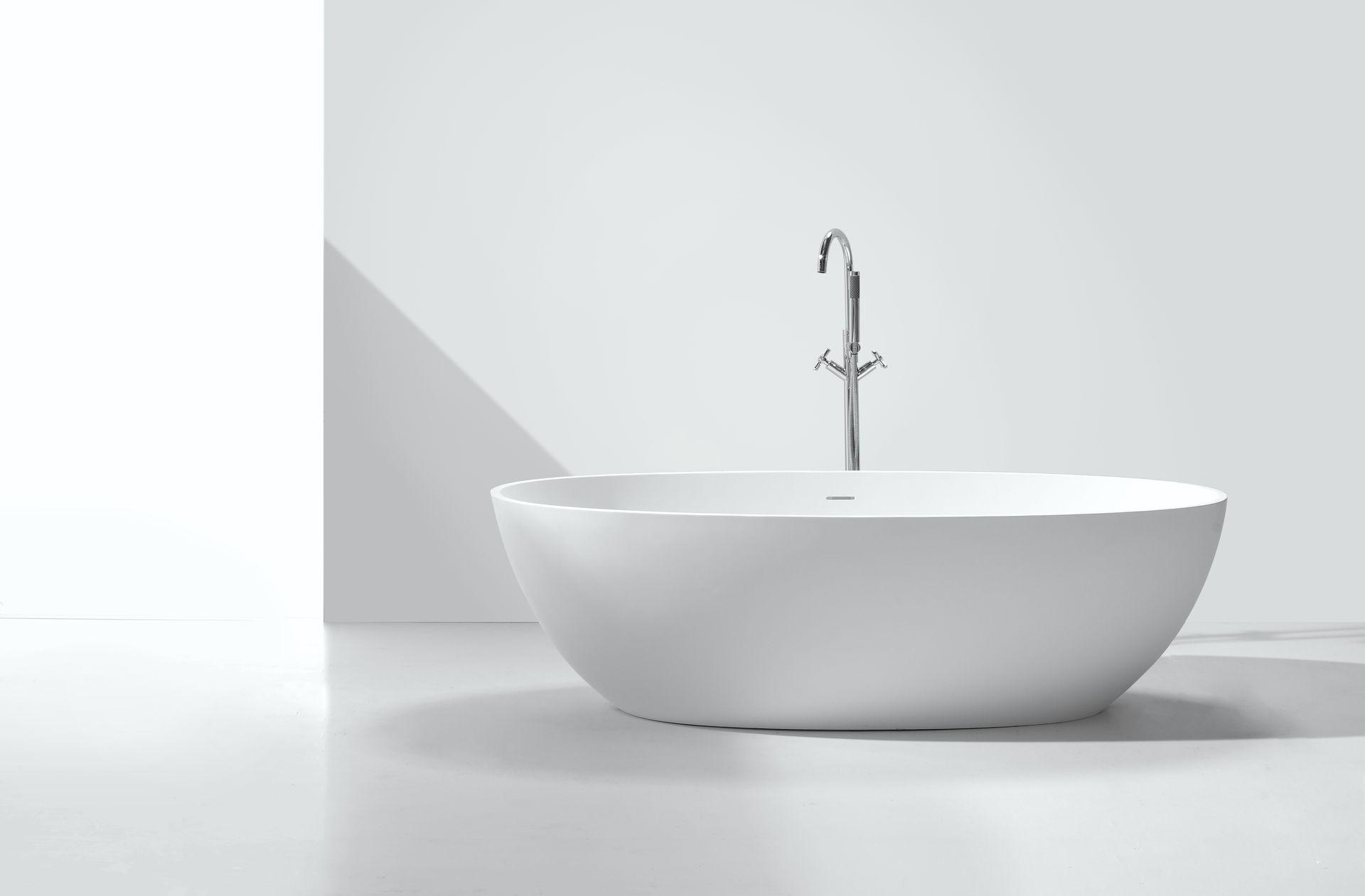 mineralguss badewanne mg b005 freistehend alphabad. Black Bedroom Furniture Sets. Home Design Ideas