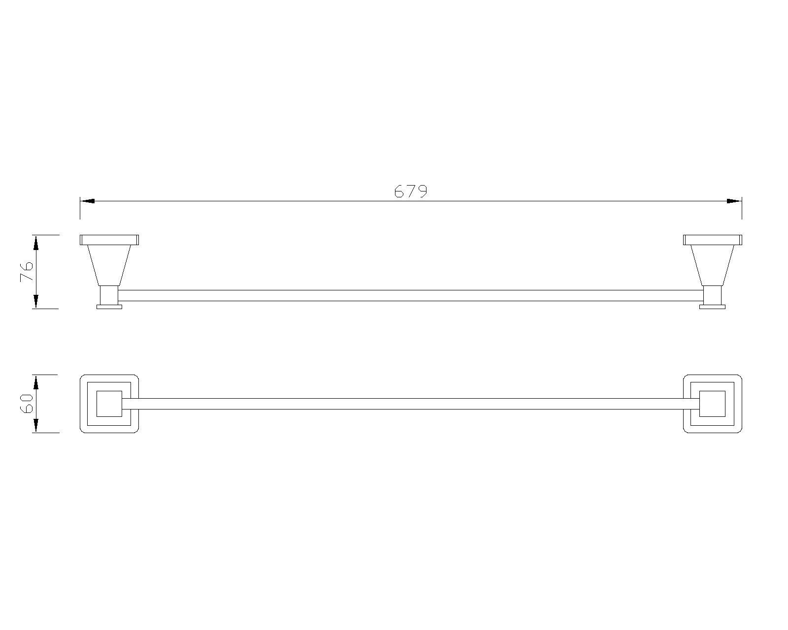 B-Serie Handttuchhalter