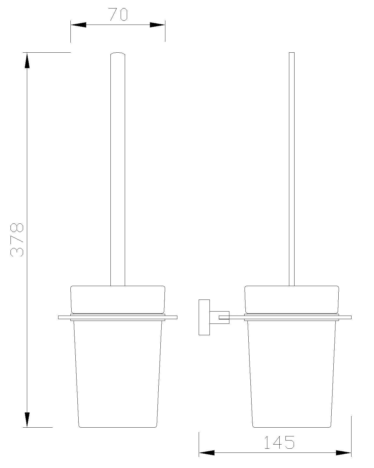 CA-Serie Toilettenbürstengarnitur