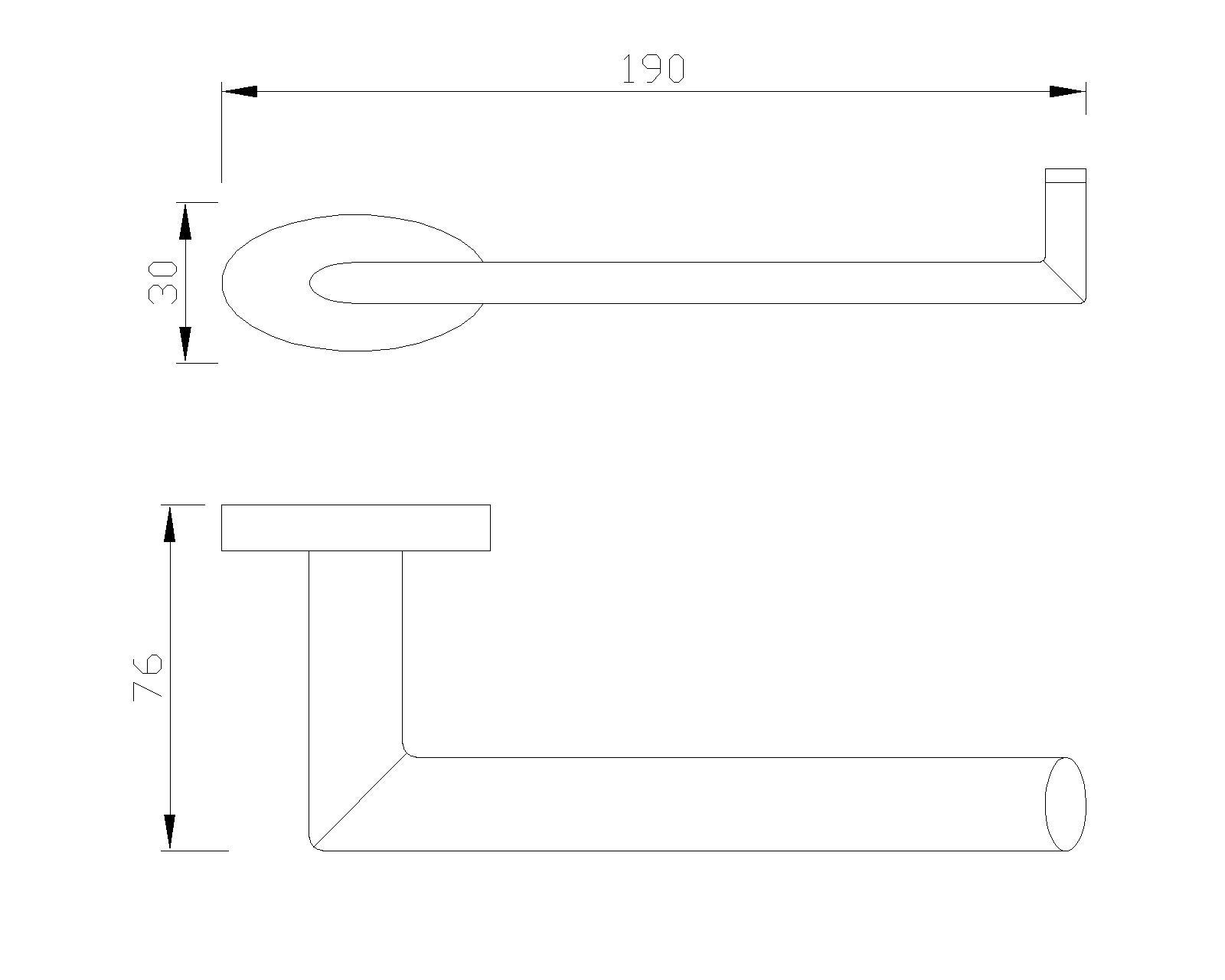 CR-Serie Toilettenpapierhalter