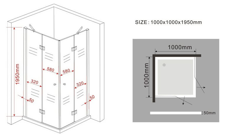duschkabine canto 100 x 100 cm inkl duschtasse alphabad. Black Bedroom Furniture Sets. Home Design Ideas