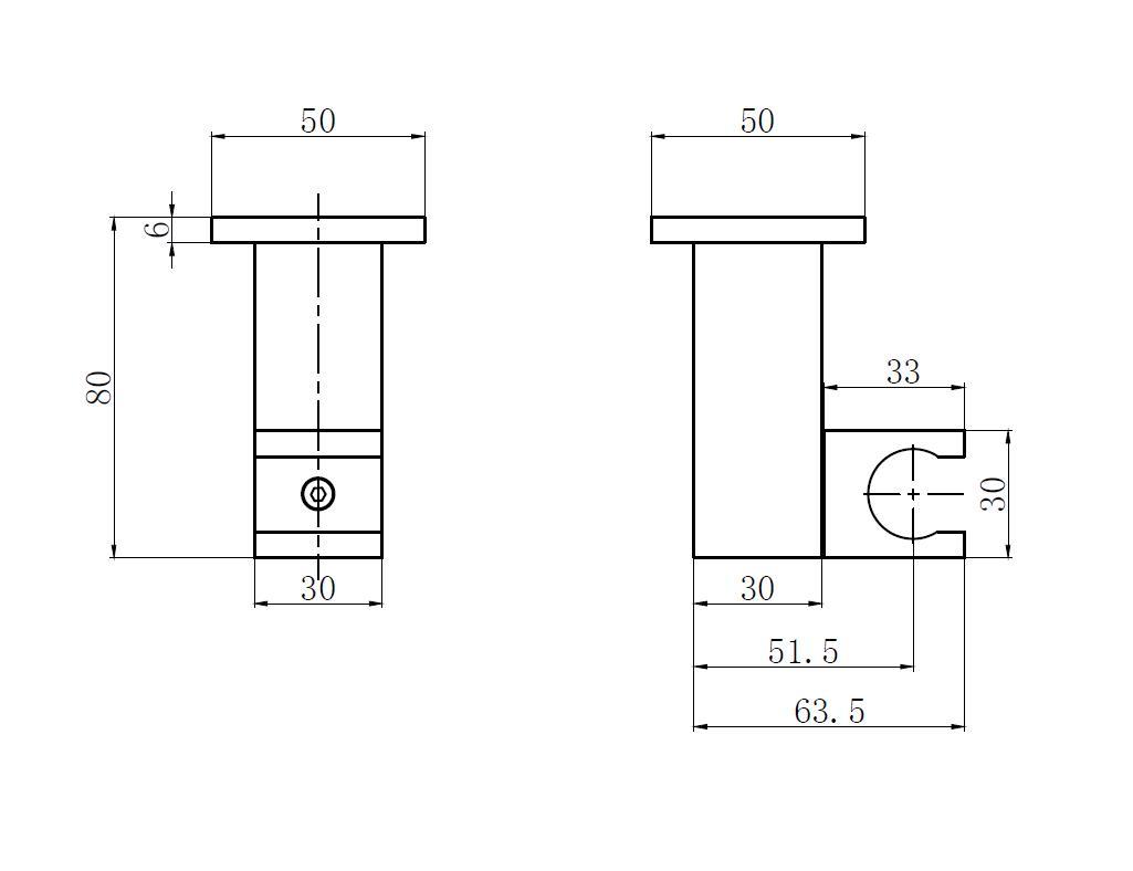 verstellbare Wandhalterung für Handbrause TT-8311