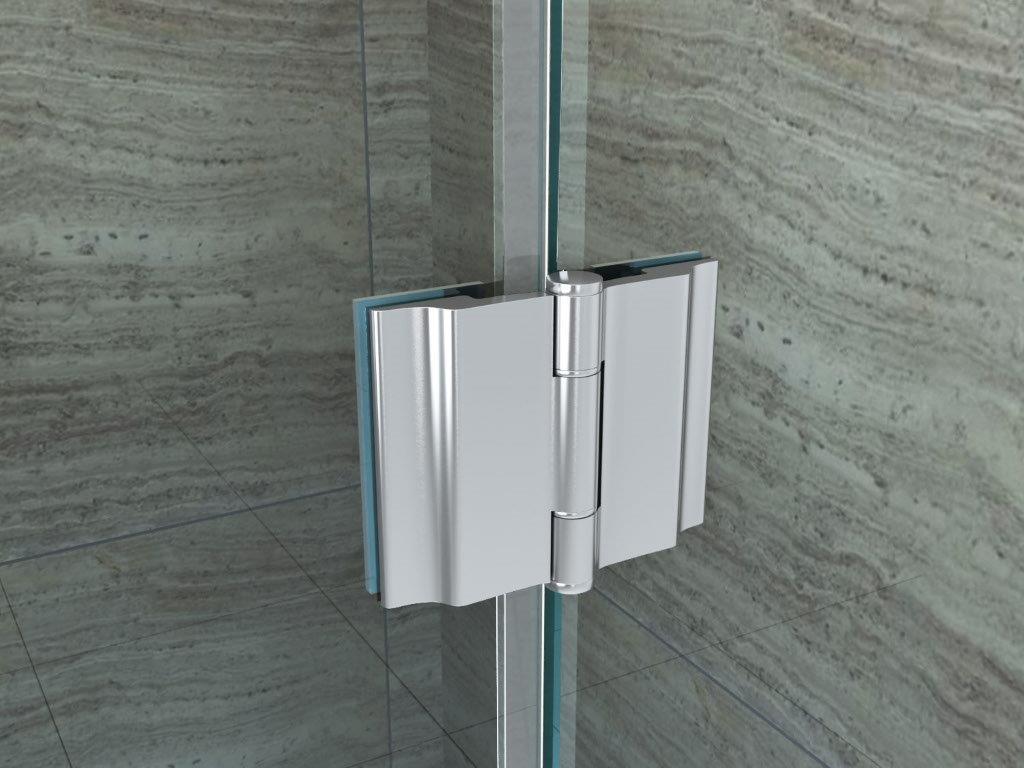 duschkabine piezo 120 x 80 cm mit duschtasse u form dusche glas runddusche ebay. Black Bedroom Furniture Sets. Home Design Ideas