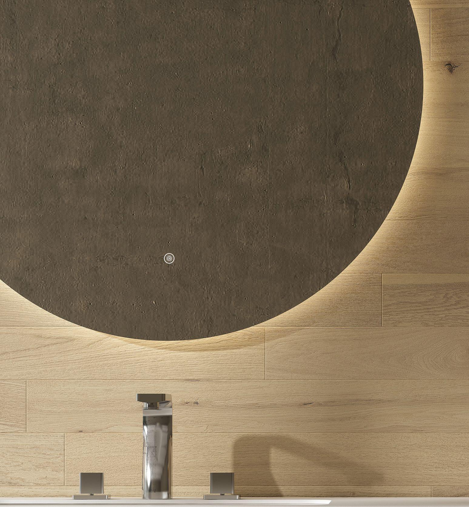 LED Badspiegel RUNDO 80