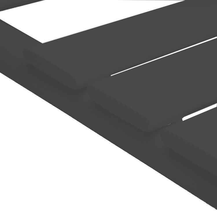 Badheizkörper SECTIO in 180 x 60 cm (Seitenanschluss, grau)