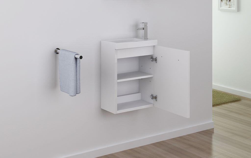 badm bel unterschrank tt001 in wei inkl waschtisch alphabad. Black Bedroom Furniture Sets. Home Design Ideas