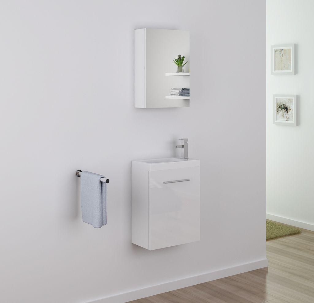 Badm bel spiegelschrank tt003 in wei alphabad for Hochwertiger spiegelschrank bad