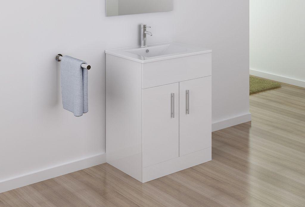 badm bel unterschrank tt016 inkl waschtisch schrank waschbecken ebay. Black Bedroom Furniture Sets. Home Design Ideas