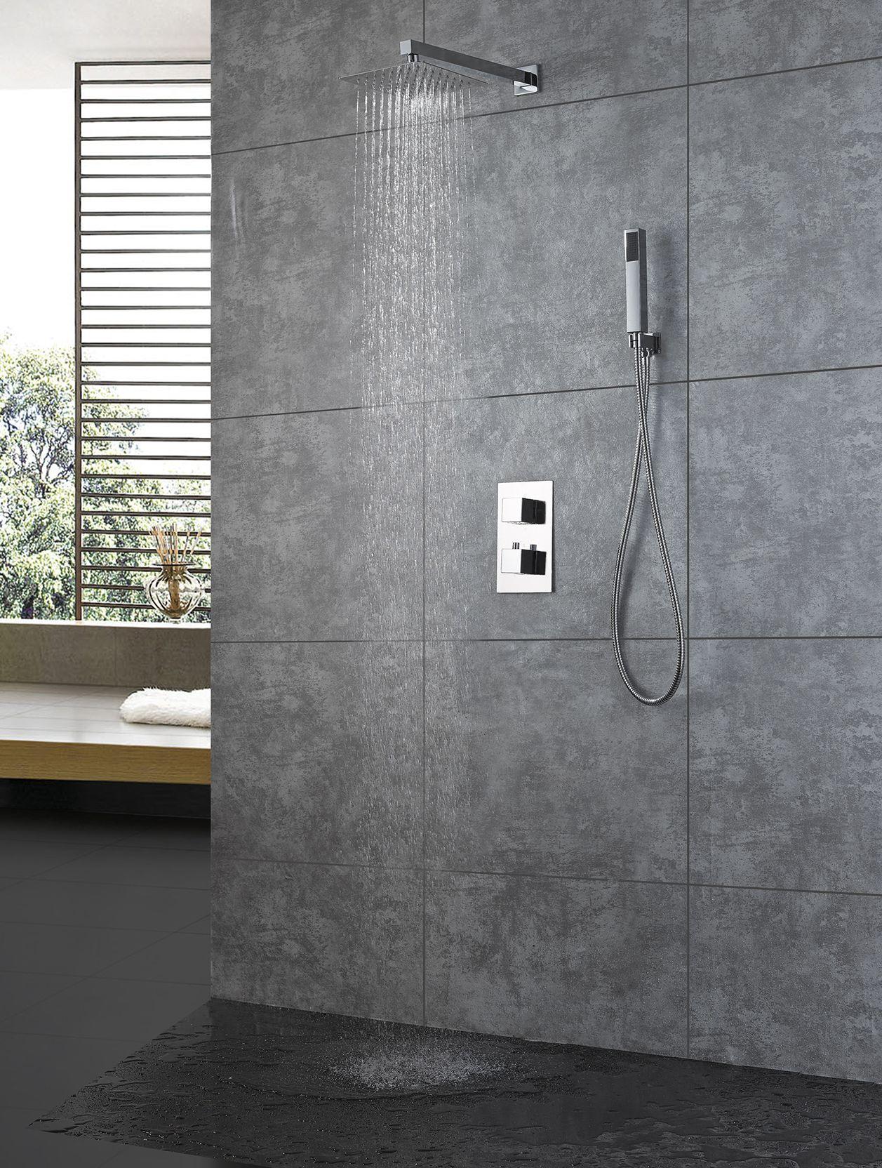 Unterputz Thermostat-Duschsystem TT453 inkl. Einbaukörper