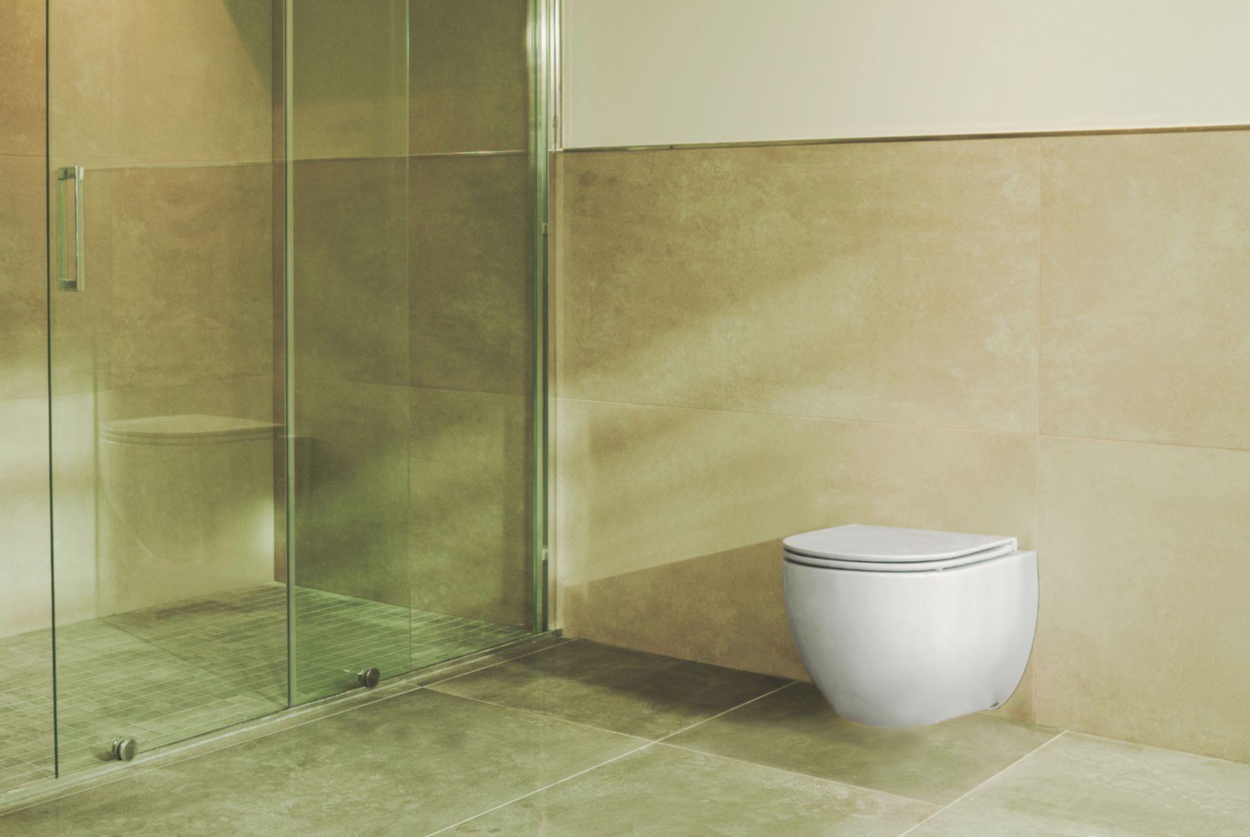 Taharet Dusch WC inkl. Armatur und Soft-Close Sitz