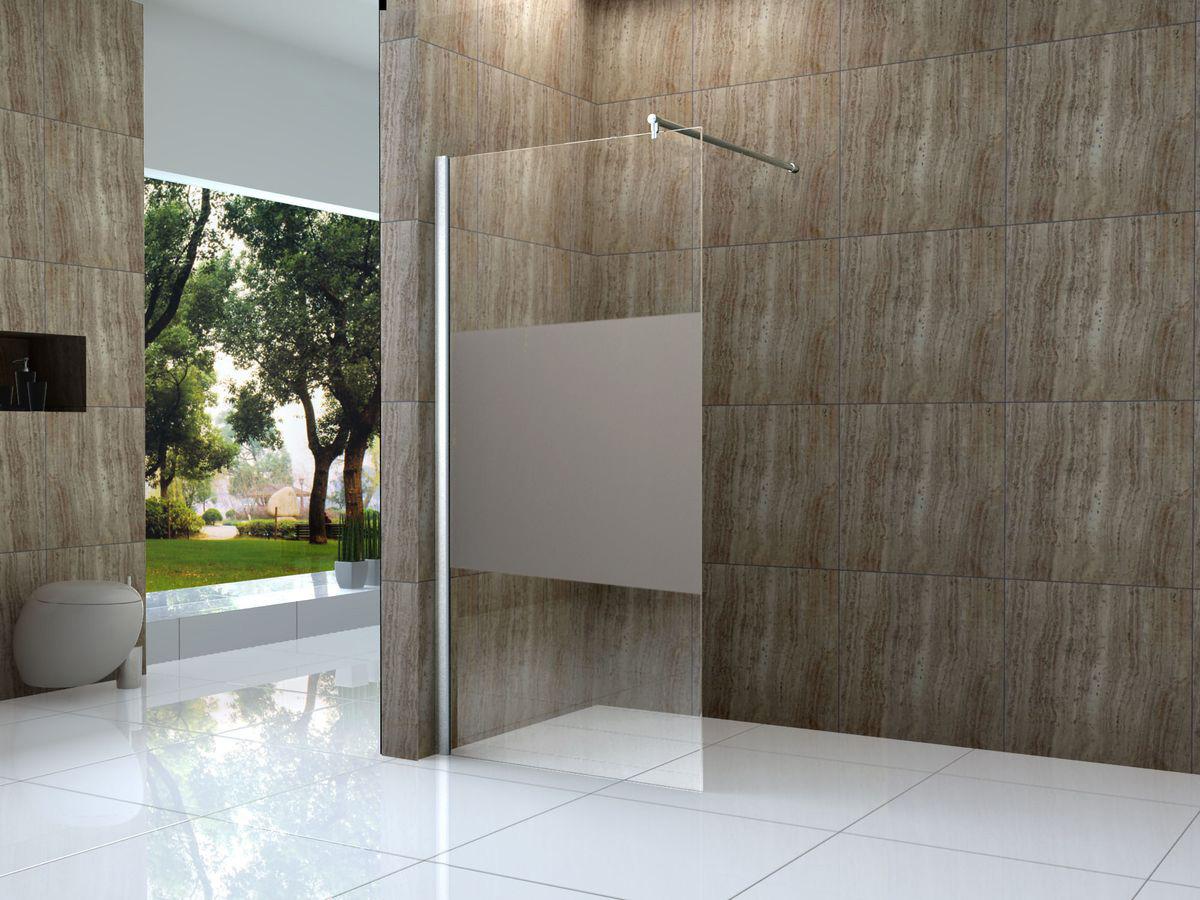 10 mm Duschtrennwand VACANTE-FR 140 x 200 cm