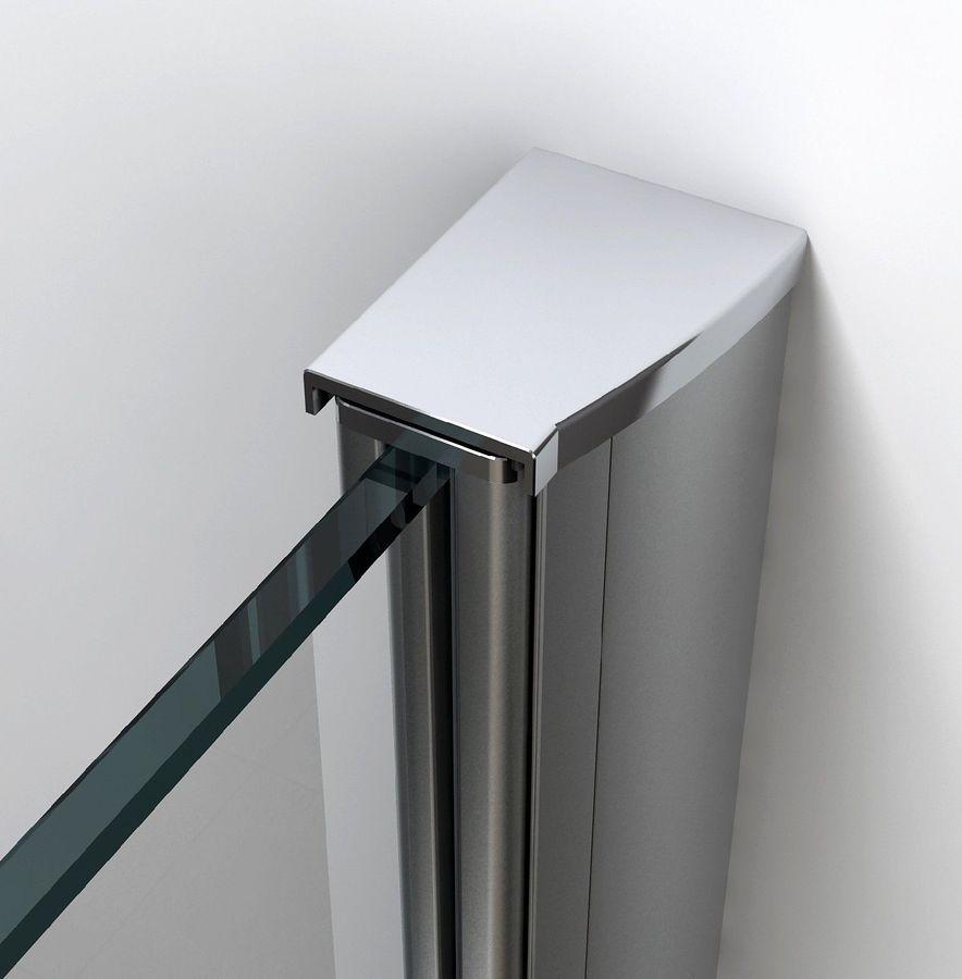 10 mm Duschtrennwand VACANTE-FR 120 x 200 cm