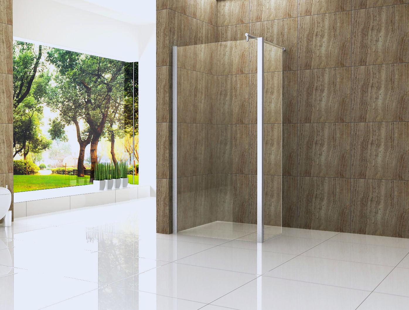 seitenteil 30 60x200cm f r duschwand vacante walkin glas. Black Bedroom Furniture Sets. Home Design Ideas