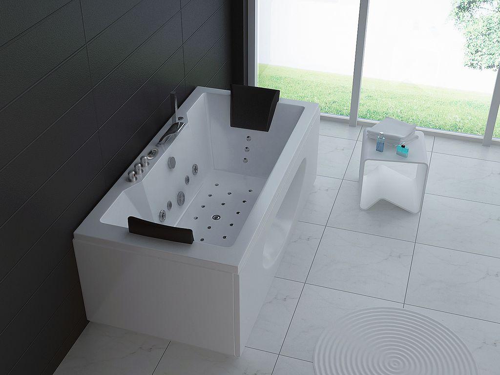 whirlpool badewanne wp 004 180 x 90 cm alphabad. Black Bedroom Furniture Sets. Home Design Ideas
