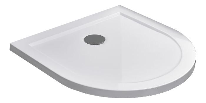 U-Form 50 mm Duschtasse 90 x 90 cm
