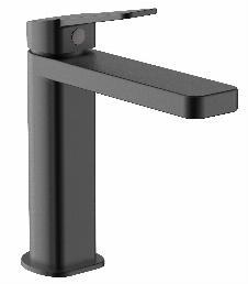 Einhebel-Waschtischarmatur KARNO 110 (matt-schwarz)
