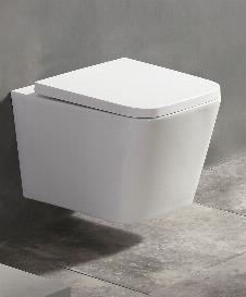 Spülrandloses Wand-WC inkl. Soft-Close Sitz WHR-586181