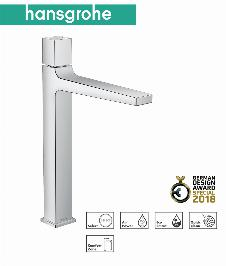 HG Metropol Waschtischmischer 260 Select mit Push-Open Ablaufgarnitur